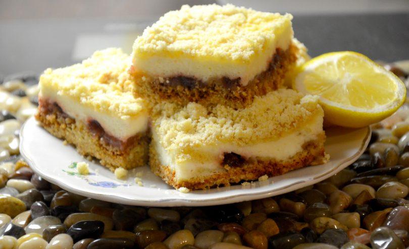творожное пирожное с вишней - мир мам 24