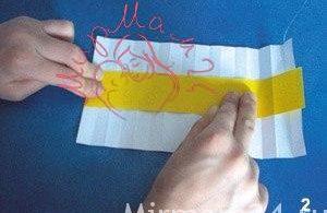 Ромашки из бумаги