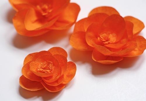 Как сделать цветок огонек