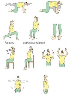 Комплекс упражнений для беременных