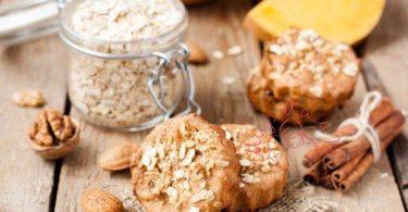 Овсяное печенье с апельсином и корицей