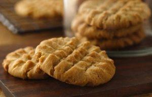 Простое печенье из арахисовой пасты