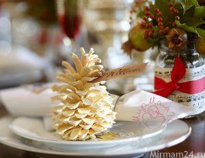 Сосновые шишки для декора