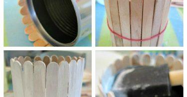 Поделки из палочек от мороженого