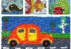 Мозаика из пластилина