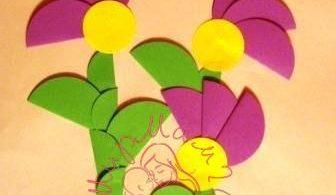 Цветочные аппликации