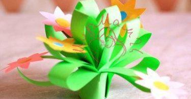 цветочки в горшочке