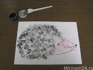 Рисование штампами