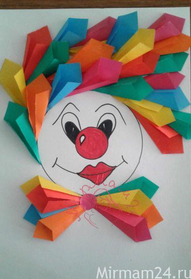 Клоуны из бумаги